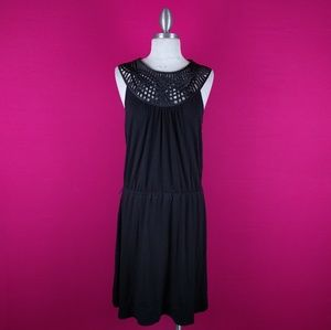 White House Black Market size large black dress